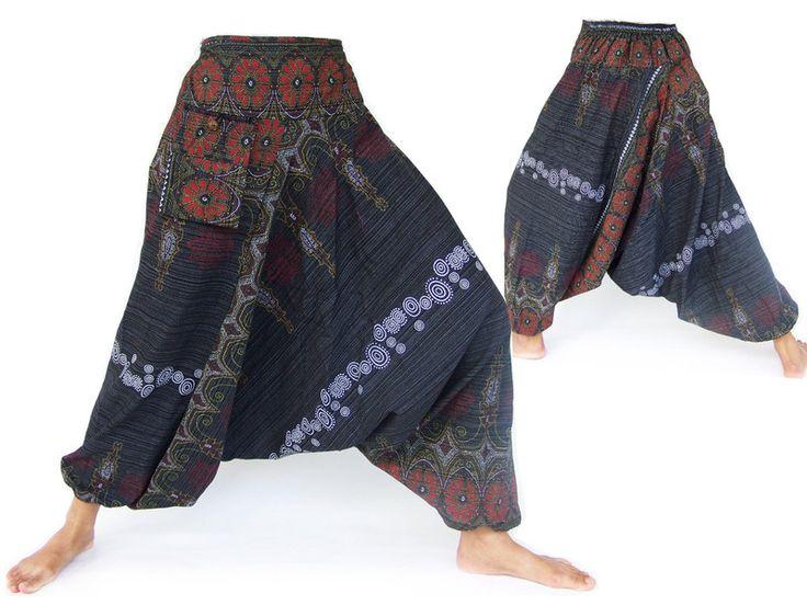 Hmong pants, Aladdin pants, Harem pants from Siamrose Art & Decor by DaWanda.com