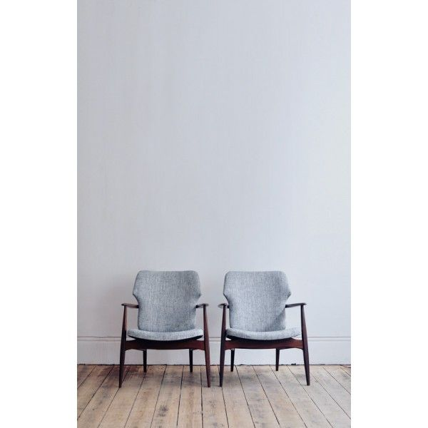 Pair of 1960's armchairs by Louis van Teeffelen__ - Forest London