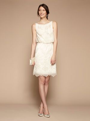 such simple beautiful and affordable wedding dresses going short