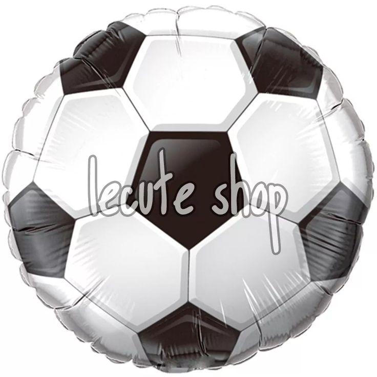 10 globos metalicos balon futbol soccer football cumpleaños