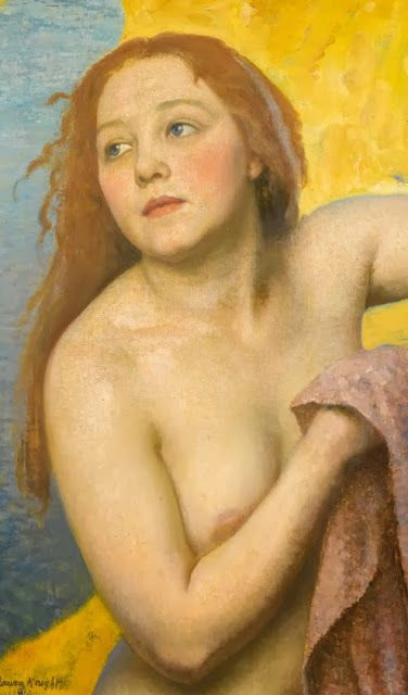 Dame Laura Knight (1877-1970) The Bather