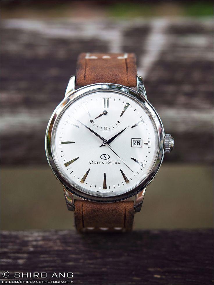 Jolie et pas chère, cette montre Orient Classic est un choix intéressant pour…