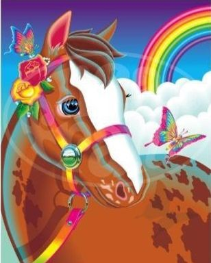Lisa Frank....I had this folder when I was little...along with about 50 million other Lisa Frank stuff...lol