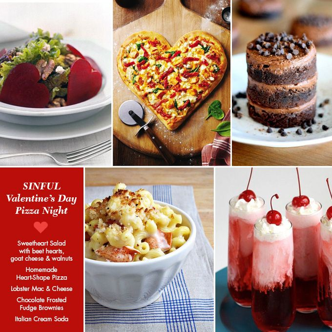 Three valentine s day dinner menus http adventures in for Valentine dinner party ideas