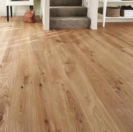 Option 1 for living room floor: Soild Oiled Oak flooring