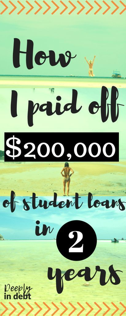 HOW I PAID OFF $200K OF STUDENT LOANS IN 2 YEARS