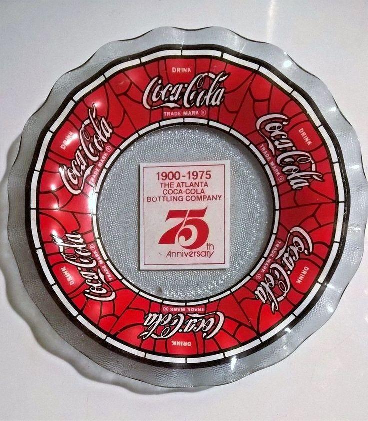 Coca-Cola, Coke Candy Dish - 75th Anniversary, The Atlanta Bottling Company 1975 #CocaCola
