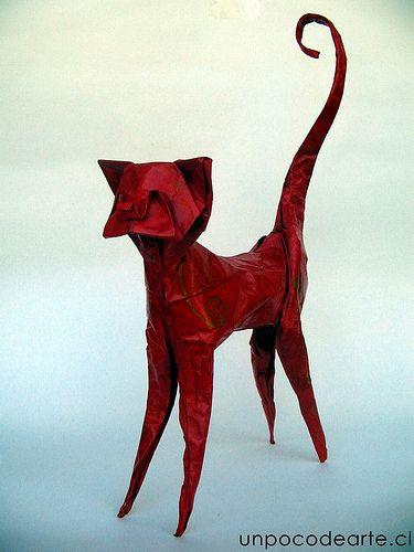 44 best origami cat images on pinterest origami ideas