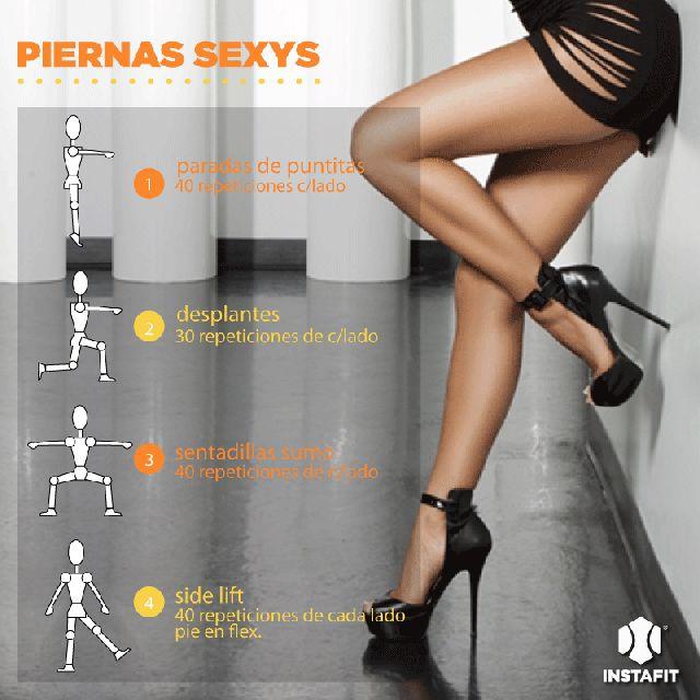 Si quieres tener unas piernas de impacto debes ejercitarlas. No importa si son muy largas o cortas, lo que hace sexy a las piernas es que estén fit.
