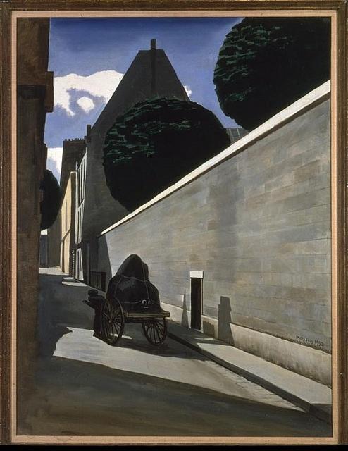 Man Ray, La Rue Ferou, 1952