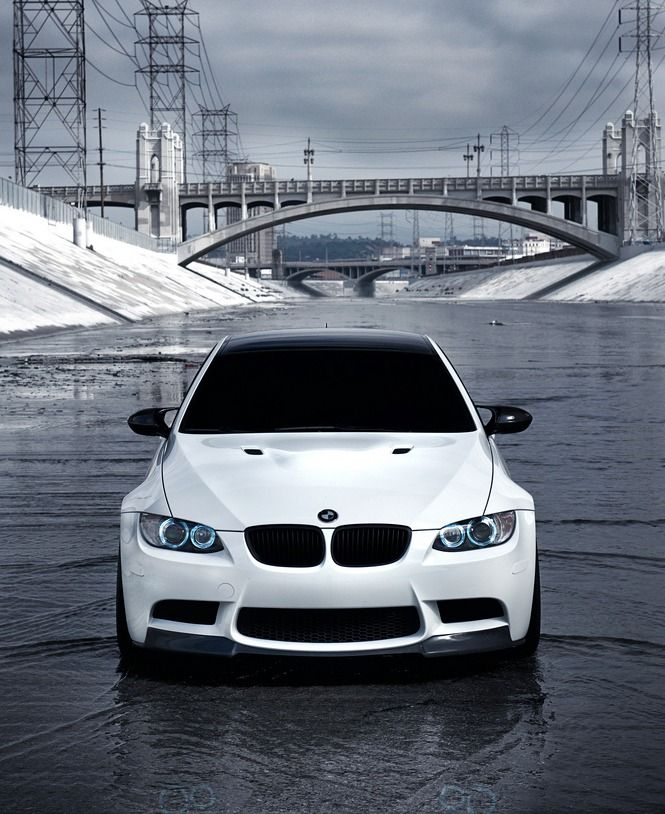 Future Car #1 BMW M3 in White with Premium Bang and Olufsen Audio