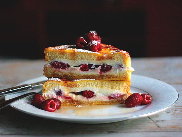 Raspberry Cheesecake Stuffed French Toast | How To Make The Best ...
