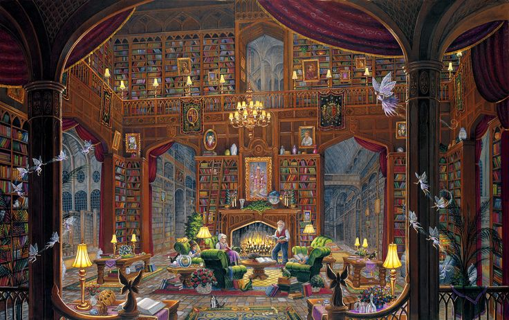 Knowledge: Spangler Fantastic, Randal Spangler, Knowledge Puzzles, 1000 Pieces, Crosses Stitches, Artists Randal, Pieces Puzzles, Jigsaw Puzzles, Fantastic Art