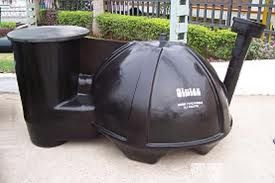 Anaerobic digestion, this is the process that transform all the organic wastes into methane. Methane is a gas that can be used to generate electricity, heat your home or can be used to power up your cooking stove. For a better understanding on how an