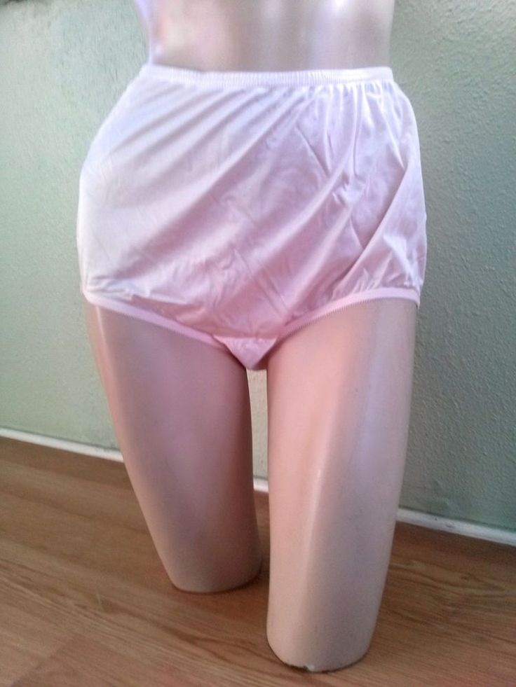 NWOT Panties Sexy Soft Pink Sissy Granny Panties Vanity Fair Plus Large Sz 7 #VanityFair #BriefsHiCuts #Glamour
