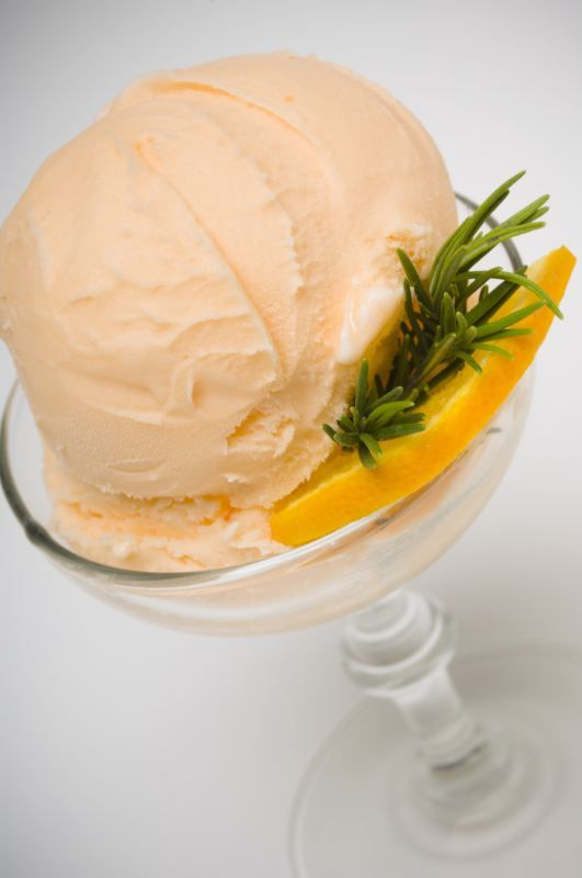 Helado de zanahoria