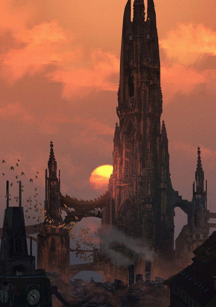 The Dark Tower by eddie-mendoza.deviantart.com on @DeviantArt