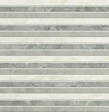 Porcelanato Biancogres | Porcelanato Esmaltado Mosaico Squadratto New Grey