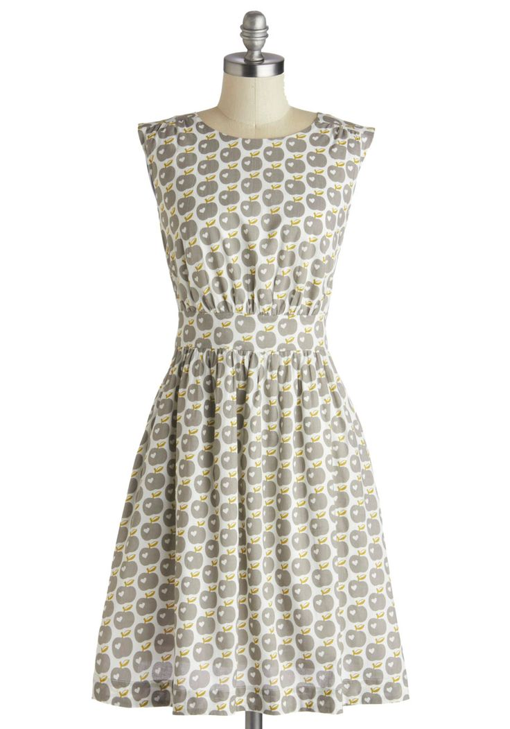 Too Much Fun Dress in Apples, #ModCloth