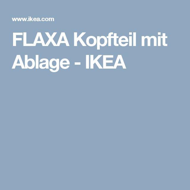 FLAXA Kopfteil mit Ablage   - IKEA