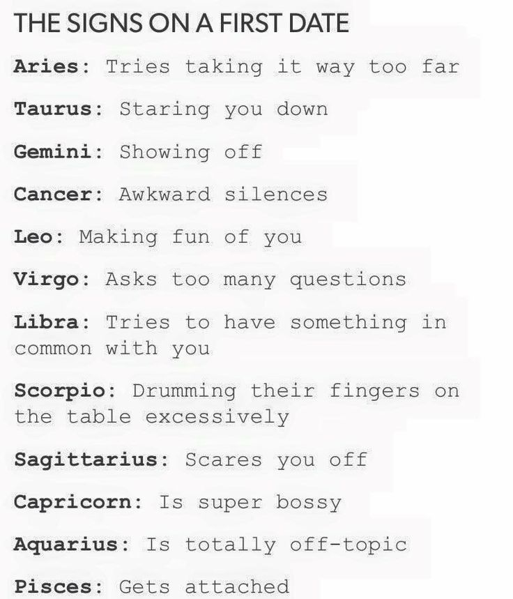 hot dating zodiac signs dates