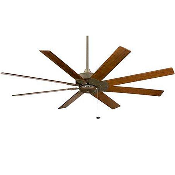 Levon Ceiling Fan | 8 Blade Fan, Rustic Ceiling Fan, Wood Blade