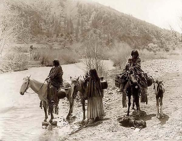 apache+indians | Apache on Horseback, 1907 (Click Here for more Apache Indian Pictures ...