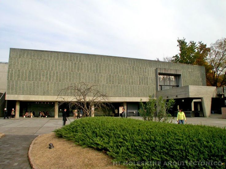 Museo Nacional de Arte_Tokio_1959_Le corbusier