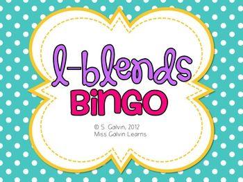 L-Blends Bingo