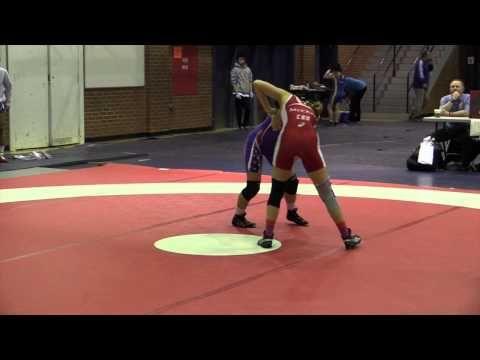 2015 Stu Hart Duals: 51 kg Ciara McCrae (BC) vs. Theresa Rankin (USA)
