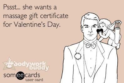 Valentine's massage