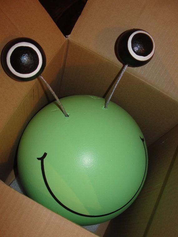 Frog Bowling Ball Garden Art Tr 228 Dg 229 Rd Pinterest Grodor