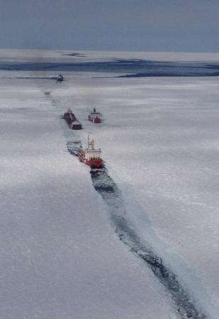 Coast Guard escorts commerce through Lake Superior Ice  Read more: http://www.dvidshub.net/image/1224007/coast-guard-escorts-commerce-through-lake-superior-ice#.Uz9Lwyhy_zI#ixzz2xxzNYLqY