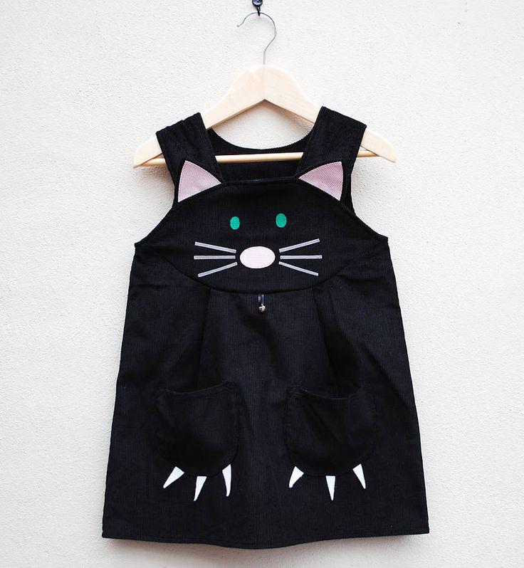 Girl's Cat Dress Costume