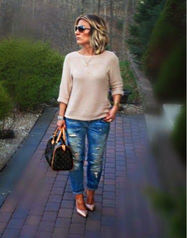 BombelStyleBlog: NEUTRAL SPRING WEEKEND OOTD. (Louboutin, LV & Zara...