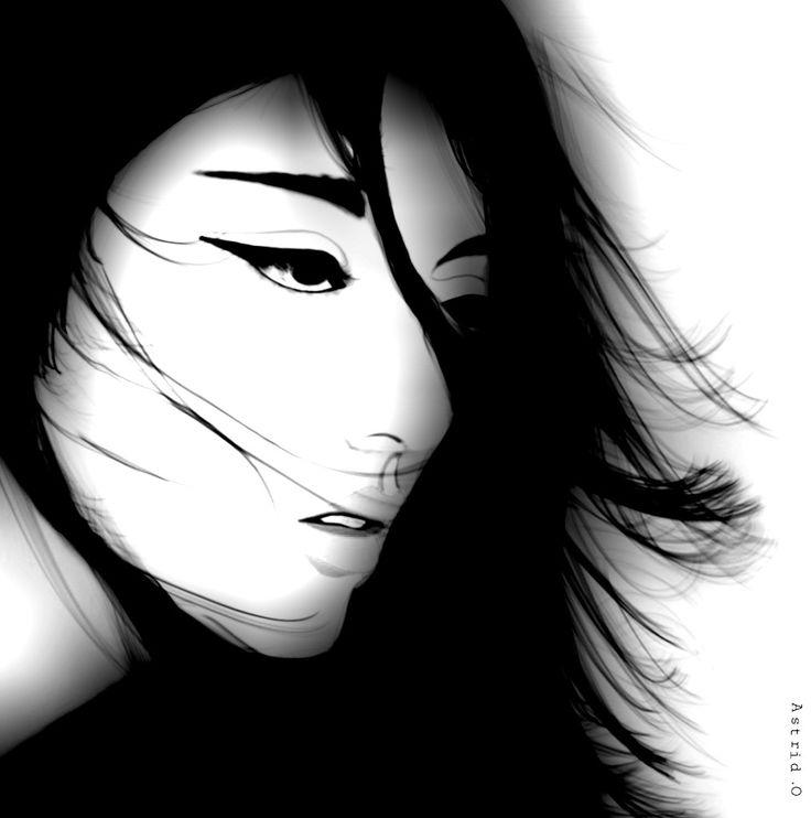 Windy Digital drawing/Art by Assie's Art.