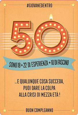 Risultati Immagini Per 50 Anni Frasi Divertenti Buon Compleanno