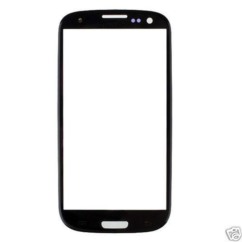 Pasa el puntero del ratón sobre la imagen para ampliarla  ¿Quieres vender uno? Véndelo tú mismo Replacement Parts Touch Panel Glass for Samsung Galaxy S3 i9300(Black)