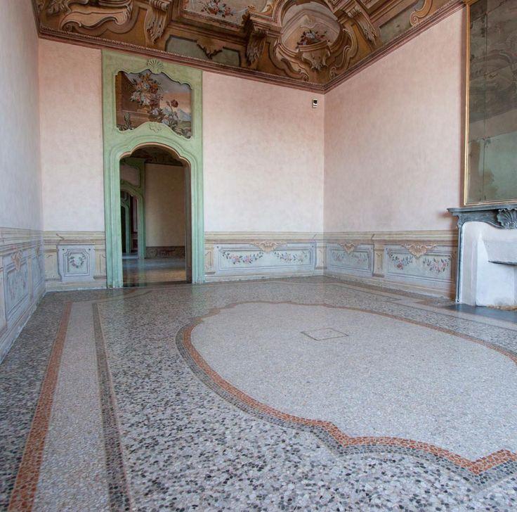 Catalogo di pavimenti alla veneziana e mosaici dalla ditta Andrea Besana, consorziata del Consorzio San Luca