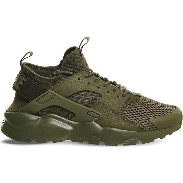 NIKE Air huarache run ultra trainers ❤ liked on Polyvore featuring shoes, sneakers, nike shoes, nike sneakers, nike trainers, nike and nike footwear