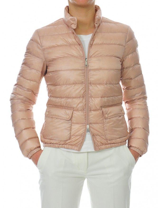 GIUBBINO DONNA MONCLER #caneppele #pink #moncler #woman #ss2017 #casual #daywear #piumino #rosa
