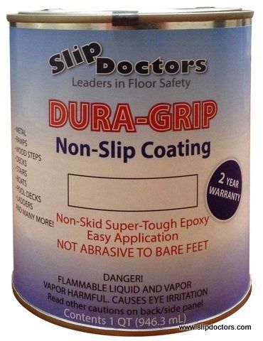 Dura Grip Is A Super Tough Epoxy That Provides A Textured Surface For Foot  Traffic In Both And Dry Conditions.