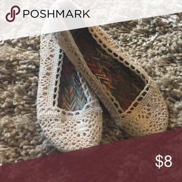 Lace flats Lace flats Shoes Flats & Loafers