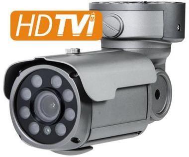 HD-TVI 1080p (2MP) IR Bullet Camera w/ 2.8~12mm Auto-Iris Vari-Focal Lens & 8COB IR LEDs
