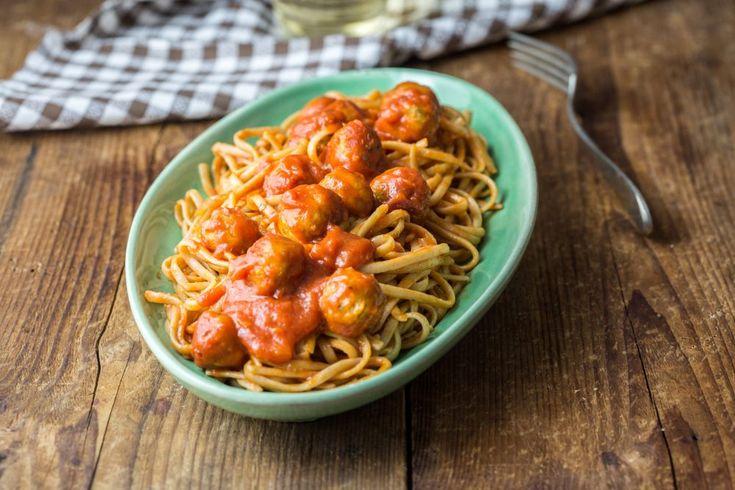 Spaghetti & polpette (veg) per bambini: la ricetta
