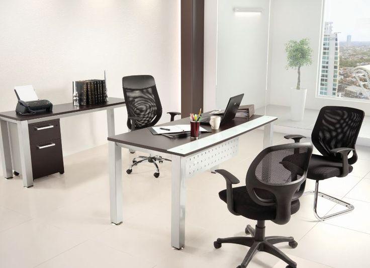 Si contamos con un espacio amplio en nuestra oficina procura colocar dos sillas para  tus clientes o proveedores.