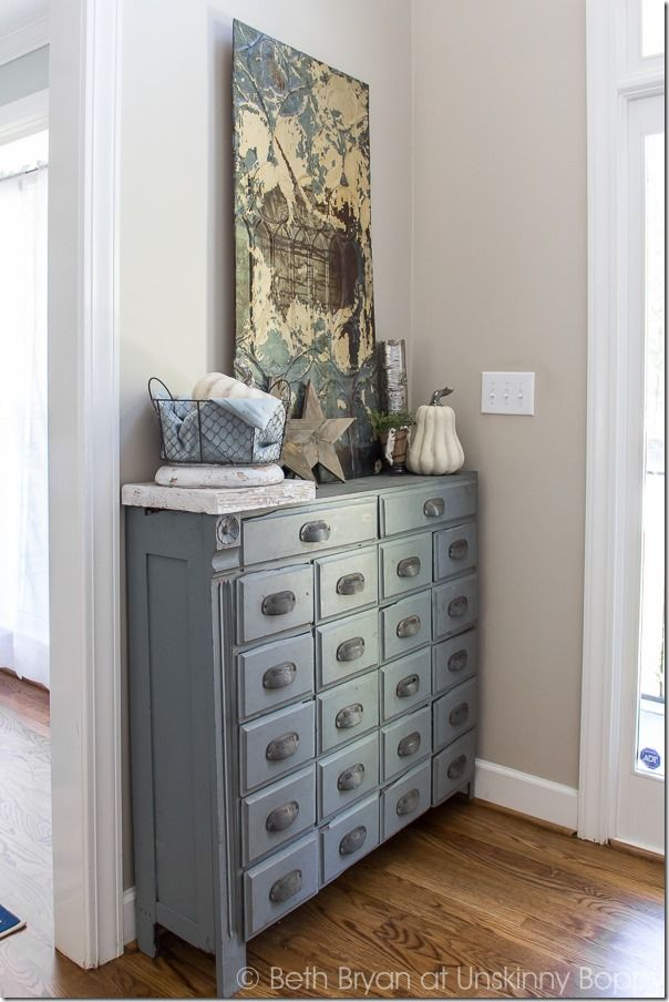 An Updated Apothecary Cabinet | Unskinny Boppy