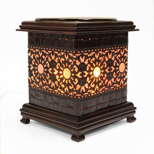 Metal Asian Sun Style Oil Warmer . $24.89