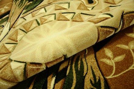 Dywan ręcznie wycinany Labirynt zieleń. Piękny i elegancki dywan wykonany w technologii Heat Set ręcznie wycinany.