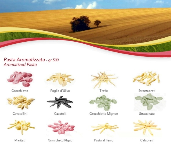 Aromatized Pasta